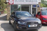 2012 AUDI A4 1.8 AVANT TFSI BLACK EDITION 5d 168 BHP £11950.00