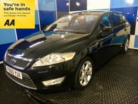"""USED 2010 60 FORD MONDEO 1.8 ZETEC TDCI 5d 124 BHP A really nice example of this very highly soughtafter diesel estate finished in unmarked panther black metalic complemented with 17 """" Y spoke alloys,this car comes with front and rear parking sensors/ fog lights,multi function steering wheel,Ford voice control ,auto lights and wipers,satelite navigation,cruise control/speed limiter,bluetooth phone preparation,dual zone digital climate control system plus all the usual refinements,it looks and drives superbly deffinitely one to consider"""