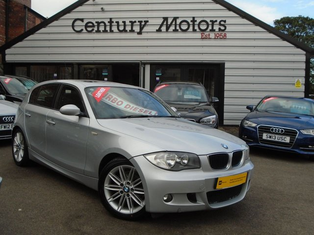 2009 09 BMW 1 SERIES 2.0 118D M SPORT 5d 141 BHP + LEATHER
