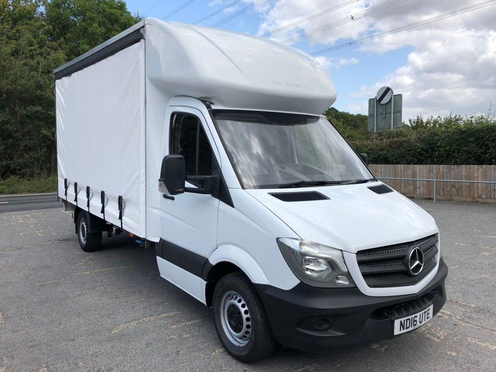 USED 2016 16 MERCEDES-BENZ SPRINTER 2.1CDI 313 CURTAINSIDE (130 BHP)
