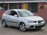 2008 SEAT IBIZA 1.4 SPORT 16V (LOW MILEAGE) 3dr £2290.00