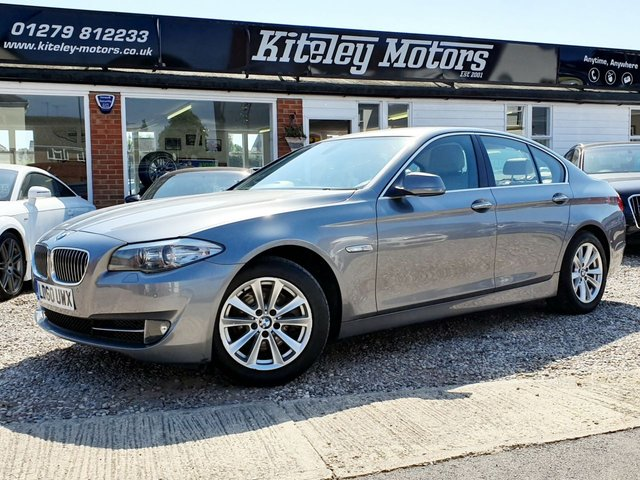 2010 60 BMW 5 SERIES 523I SE AUTO PETROL 1 OWNER FROM NEW