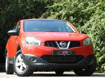 2012 NISSAN QASHQAI 1.6 VISIA IS DCIS/S 5d 130 BHP £4490.00