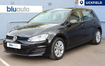 2014 VOLKSWAGEN GOLF 1.6 SE TDI BLUEMOTION TECHNOLOGY DSG 5d 103 BHP £9980.00