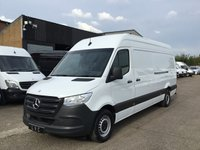 USED 2018 68 MERCEDES-BENZ SPRINTER 2.1 314CDI LWB NEW SHAPE 141BHP EURO 6. ONLY 33,000 MILES NEW SHAPE. EURO 6. MERC WARRANTY 22.10.2021. FINANCE. PX
