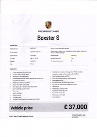 USED 2014 64 PORSCHE BOXSTER 981 S 3.4 24V S PDK 2d AUTO 315 BHP