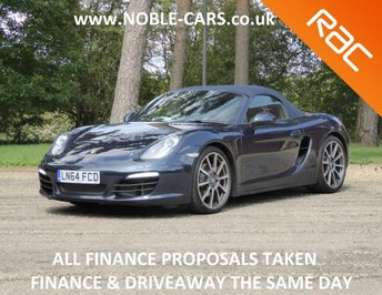 View our PORSCHE BOXSTER 981 S
