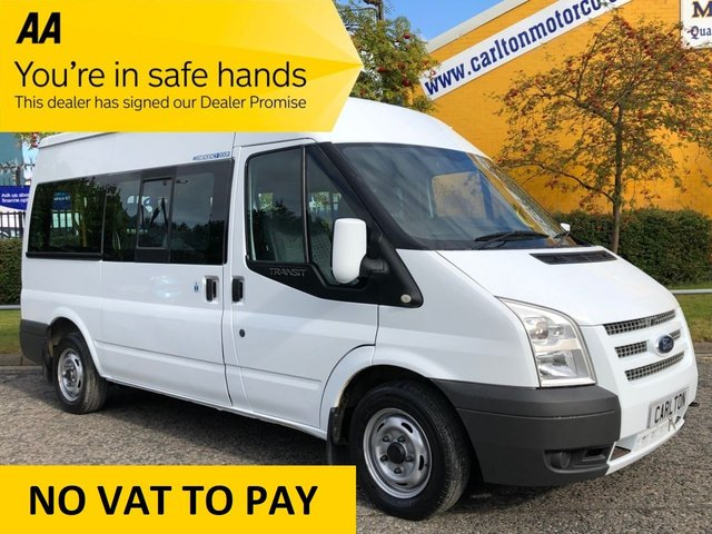 2011 11 FORD TRANSIT 300 TDCi 115 WAV DISABLED / WHEEL CHAIR TWIN DOORS