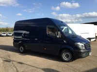 USED 2015 15 MERCEDES-BENZ SPRINTER 2.1 313CDI MWB HIGH ROOF 130BHP AIRCON. BLUE. FINANCE. PX AIRCON. BLUE. 1 OWNER. BIG CHOICE. FINANCE. PX WELCOME