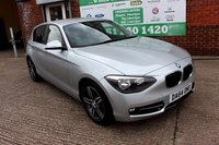 USED 2014 64 BMW 1 SERIES 2.0 116D SPORT 5d 114 BHP +SPORTS SEATS +PRIVACY +ALLOYS