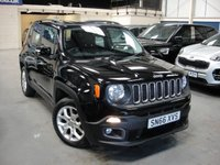 USED 2016 66 JEEP RENEGADE 1.6 M-JET LONGITUDE 5d 118 BHP ANY PART EXCHANGE WELCOME, COUNTRY WIDE DELIVERY ARRANGED, HUGE SPEC
