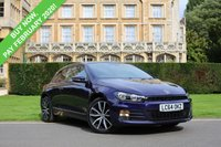 USED 2014 64 VOLKSWAGEN SCIROCCO 1.4 GT TSI BLUEMOTION TECHNOLOGY 2d 123 BHP