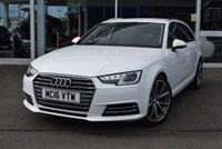 USED 2016 16 AUDI A4 2.0 AVANT TDI ULTRA SPORT 5d 148 BHP FINANCE TODAY WITH NO DEPOSIT