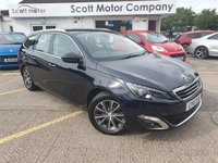 USED 2016 16 PEUGEOT 308 SW 1.6 Allure Blue HDi S/S Diesel Estate