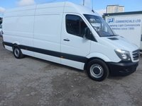 USED 2017 67 MERCEDES-BENZ SPRINTER 314CDI LWB, 140 BHP [EURO 6], LOW MILES