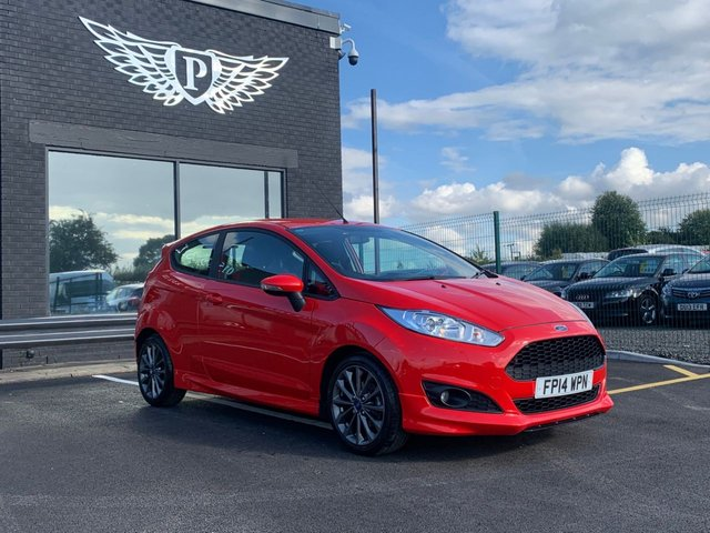 USED 2014 14 FORD FIESTA 1.6 ZETEC S TDCI 3d 94 BHP MOT AND SERVICE AND WARRANTY INCLUDED