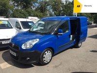 2015 FIAT DOBLO 1.2 16V SX MULTIJET 90 BHP *SIDE DOOR* £3495.00