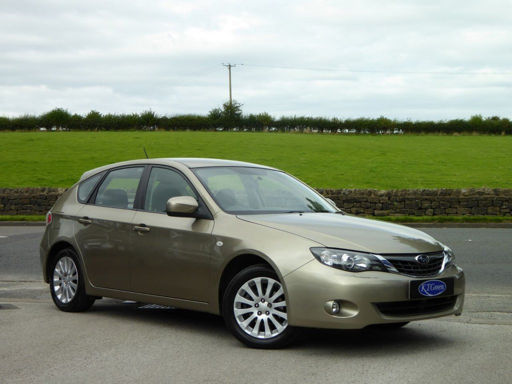 USED 2008 57 SUBARU IMPREZA 2.0 R 5d 150 BHP GREAT CONDITION, SOLD BY US NEW, FULL SUBARU HISTORY