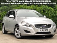 USED 2012 61 VOLVO V60 2.4 D5 SE LUX 5d AUTO 212 BHP