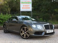 USED 2014 14 BENTLEY CONTINENTAL 4.0 GT V8 2dr AUTO Stunning Example, Huge Spec
