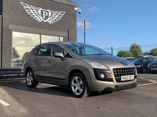 USED 2012 62 PEUGEOT 3008 1.6 ACTIVE E-HDI FAP 5d AUTO 112 BHP FULL SERVICE HISTORY 6 STAMPS | PARKING SENSOR | CRUISE CONTROL