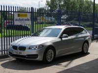 USED 2015 15 BMW 5 SERIES 2.0 520D SE Touring Sat nav Bluetooth & audio DAB SatNav,Privacy Glass,Parking sensors
