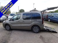 USED 2014 14 PEUGEOT PARTNER 1.6 HDI TEPEE S WHEELCHAIR ACCESS WAV  3 SEATS Electric Winch, Fold Flat Access Ramp, Direct from Motability
