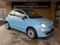 2010 FIAT 500 LOUNGE £3800.00