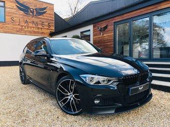 2017 BMW 3 SERIES 3.0 330D M SPORT TOURING 5d AUTO 255 BHP £20490.00