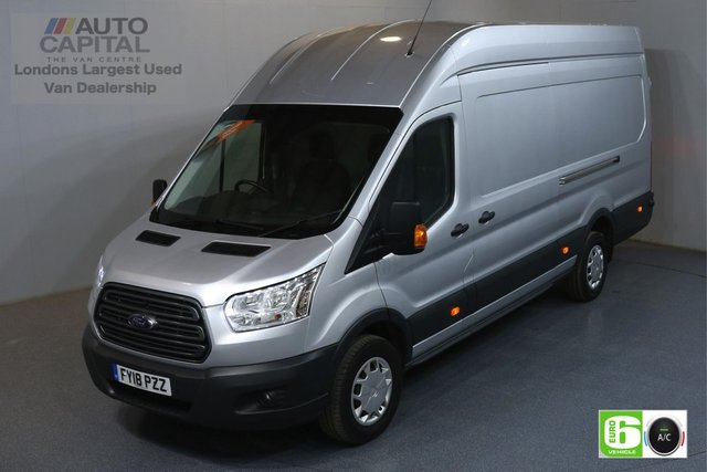 2018 18 FORD TRANSIT 2.0 350 TREND RWD L4 H3 JUMBO 129 BHP EURO 6 ENGINE AIR CON, FRONT-REAR PARKING SENSORS