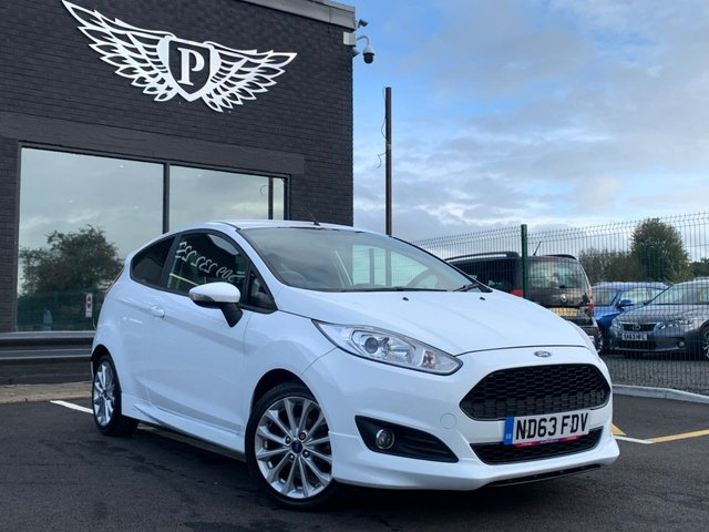 USED 2014 63 FORD FIESTA 1.0 ZETEC S 3d 124 BHP AA WARRANTY,  MOT AND SERVICE INCLUDED