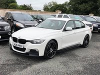 USED 2015 15 BMW 3 SERIES 2.0 320D M SPORT 4d 181 BHP