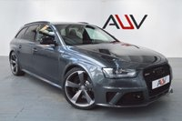 USED 2014 64 AUDI RS4 AVANT 4.2 RS4 AVANT FSI QUATTRO 5d AUTO 444 BHP
