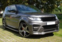 USED 2015 15 LAND ROVER RANGE ROVER SPORT OVERFINCH 3.0 SDV6 AUTOBIOGRAPHY DYNAMIC AUTO