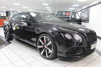 2016 BENTLEY CONTINENTAL 4.0 GT V8 S MDS AUTO £87950.00