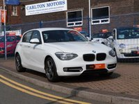 USED 2014 14 BMW 1 SERIES 1.6 114I SPORT 5d BLUETOOTH  ~ DAB ~ AIR CON ~ PARKING SENSORS ~ COMFORT PACK