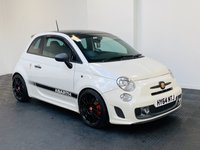USED 2014 64 ABARTH 595 1.4 ABARTH 595 COMPETIZIONE 3d 160 BHP SUPERB IN WHITE + SERVICE HISTORY + SPORTS SEATS + PART EX WELCOME