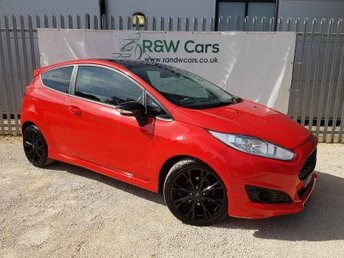 2015 FORD FIESTA 1.0 ZETEC S RED EDITION 3d 139 BHP £5990.00