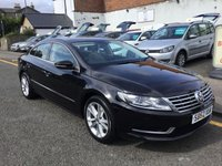 USED 2013 62 VOLKSWAGEN CC 2.0 TDI BLUEMOTION TECHNOLOGY 4d 138 BHP THIS VOLKSWAGEN CC IS ABSOLUTELY STUNNNING WITH A TWO TONE INTERIOR AND GOOD SERVICE HISTORY !
