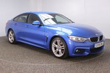 USED 2016 16 BMW 4 SERIES GRAN COUPE 2.0 420D M SPORT GRAN COUPE 4DR SAT NAV HEATED LEATHER SEATS 1 OWNER AUTO 188 BHP FULL SERVICE HISTORY + HEATED LEATHER SEATS + SATELLITE NAVIGATION PROFESSIONAL + PARKING SENSOR + BLUETOOTH + CRUISE CONTROL + CLIMATE CONTROL + MULTI FUNCTION WHEEL + DAB RADIO + XENON HEADLIGHTS + ELECTRIC WINDOWS + ELECTRIC MIRRORS + 18 INCH ALLOY WHEELS