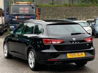 USED 2015 15 SEAT LEON 2.0 TDI CR FR (Tech Pack) ST (s/s) 5dr TechPack/PrivacyGlass/Nav/DAB