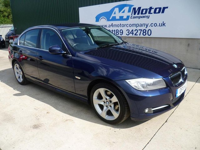 2011 11 BMW 3 SERIES 2.0 318i Exclusive 4dr
