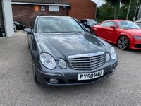 USED 2008 58 MERCEDES-BENZ E CLASS 3.5 E350 CGI Elegance G-Tronic 4dr FULL DOCUMENTED HISTORY