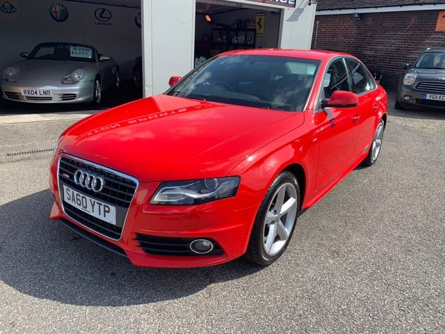 AUDI A4 at Euxton Sports and Prestige