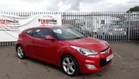 USED 2012 62 HYUNDAI VELOSTER 1.6 4dr LOW MILES+DRIVE AWAY TODAY!!!!