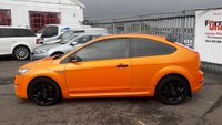 USED 2008 08 FORD FOCUS 2.5 SIV ST-2 3dr ELECTRIC ORANGE+DRIVE AWAY NOW