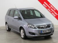 USED 2010 60 VAUXHALL ZAFIRA 1.6 ENERGY 5d 113 BHP With extensive Service History and with an MOT to July 2020 this Vauxhall Zafira 1.6 Energy is a great running value 7 Seater in metallic Flip Chip Silver. Comes with Privacy Glass, Air Conditioning, Leather Multi Functional Steering Wheel, Electric Windows, Electrically Operated Wing Mirrors and 2 Keys. Nationwide Delivery Available. Finance Available at 9.9% APR Representative.