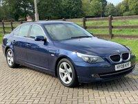 2008 BMW 5 SERIES 2.0 520D SE 4d AUTO 175 BHP £4995.00