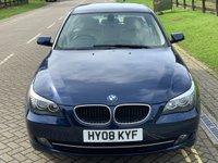 USED 2008 08 BMW 5 SERIES 2.0 520D SE 4d AUTO 175 BHP
