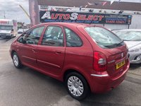 USED 2010 10 CITROEN XSARA PICASSO 1.6 PICASSO DESIRE 16V 5d 108 BHP *** ONLY 68,000 MILES *** 12 MONTHS WARRANTY!